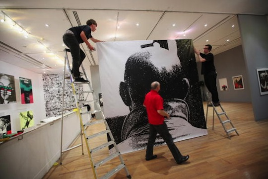 Preparations Are Made Ahead Of The Roman Cieslewicz RCA Retrospective