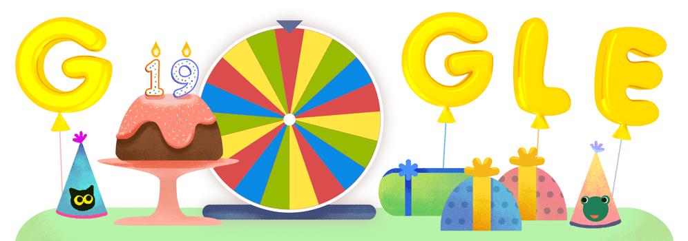 Google 生日幸運轉盤