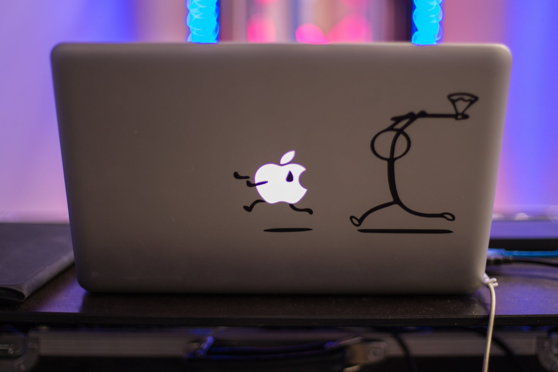 apple artwork business color