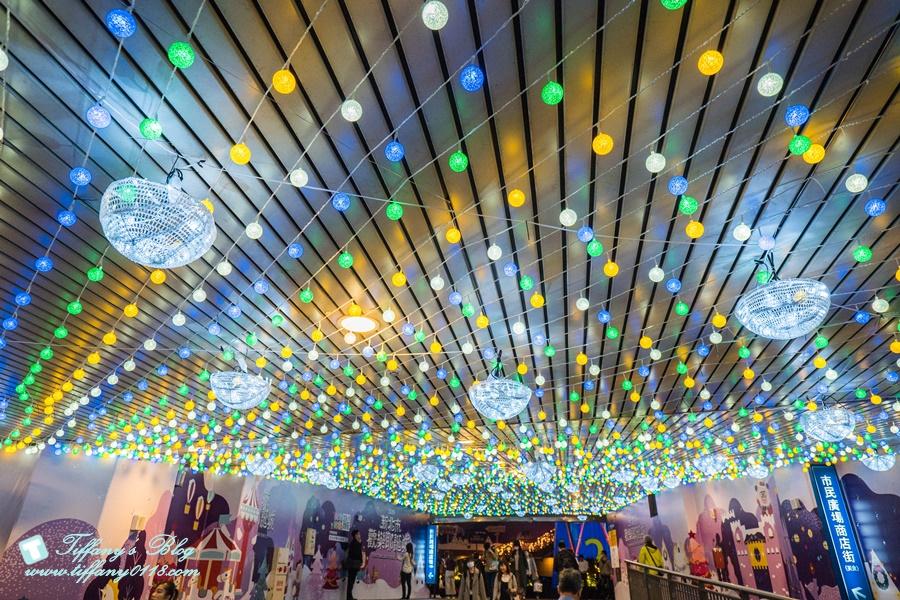 2019新北耶誕城燈區完整紀錄及交通資訊/教你怎麼玩怎麼去/32樓免費看夜景