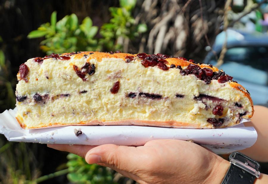 蚵仔寮 古早味蛋糕 小吃 必吃 伴手理 無油蛋糕 品銘 高雄美食