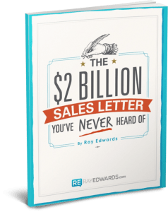 The 2 Billion Dollar Sales Letter By Ray Edwards Review