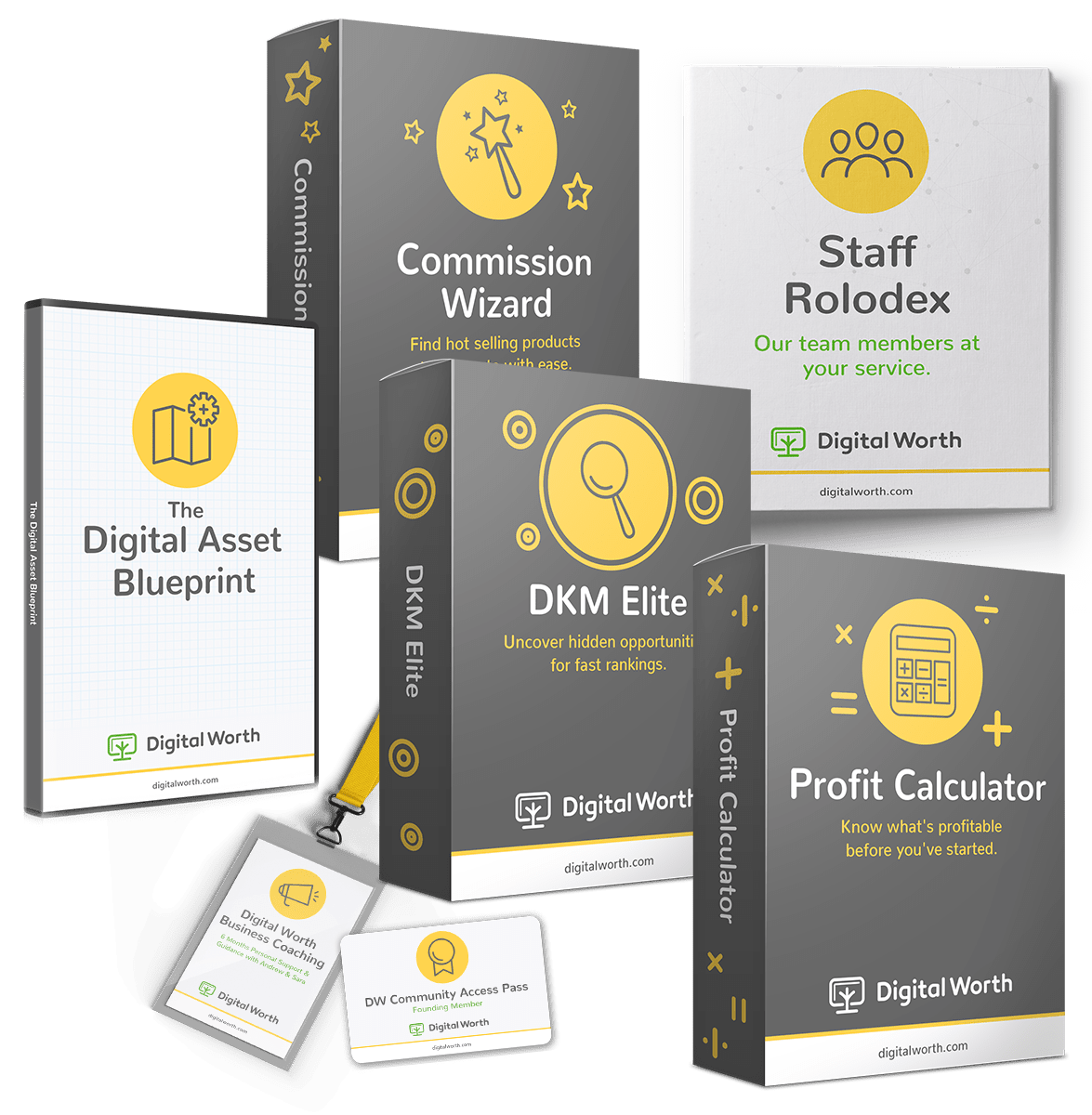 Digital worth academy by andrew hansen sara young review bonus malvernweather Image collections