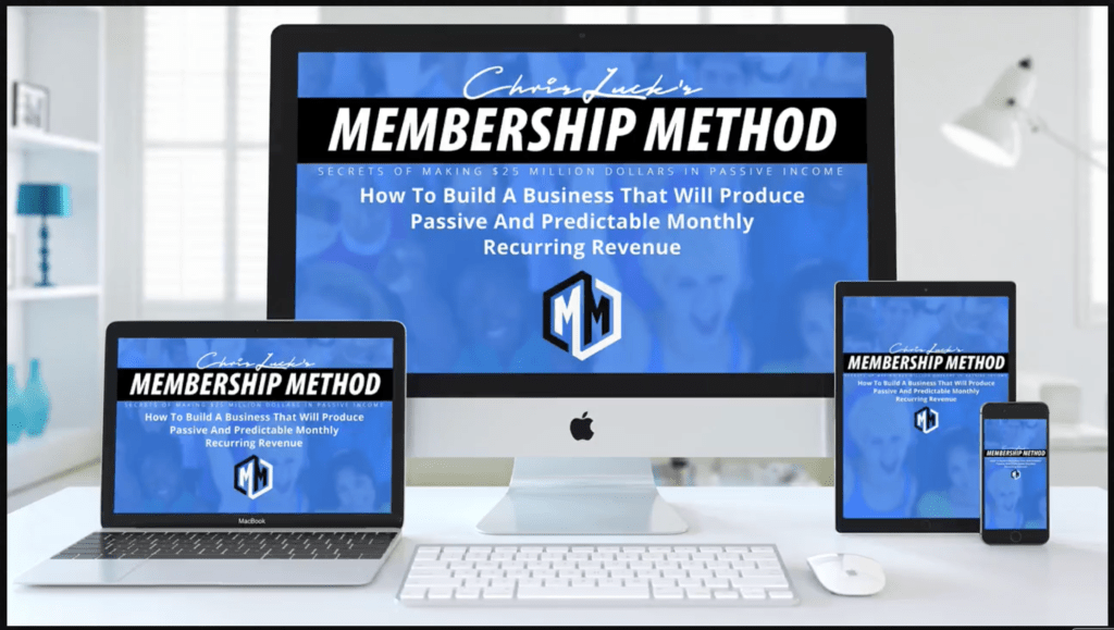 Membership Method Membership Sites  Box Includes