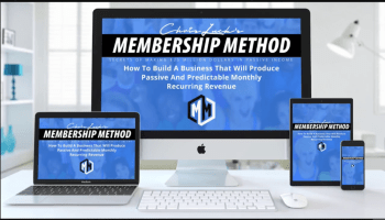 Membership Sites Membership Method  Coupon Code Cyber Monday April