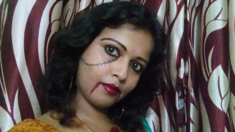 Halloween Special Outfit – The Ethnic Ghost Look