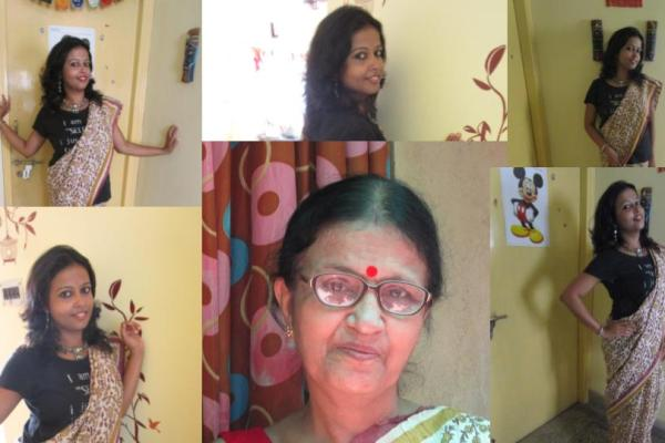 A Twinning Story with Saree – Mother's Day Spercial