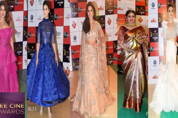 Zee Cine Awards 2018 – 5 Best Dressed Divas – #NYFashionTrain