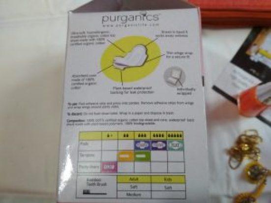 Purganics Organic Sanitary Pad Review