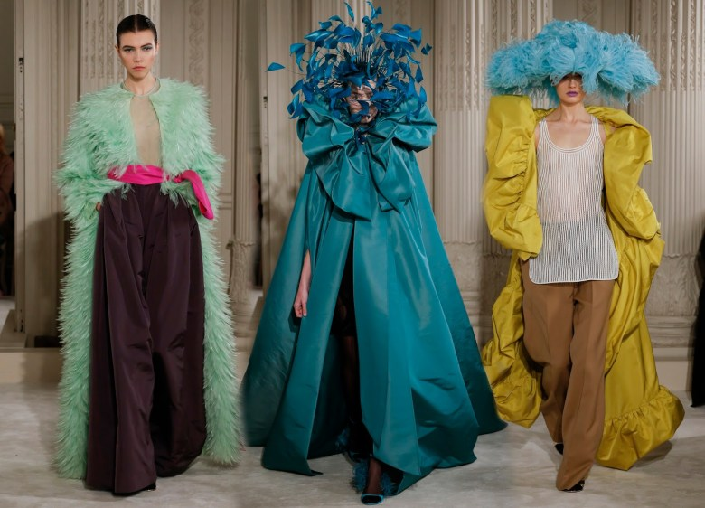 Haute couture and international fashion trends