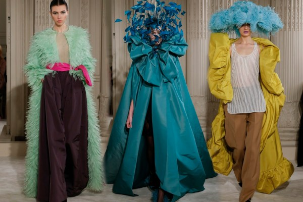Haute Couture & International Fashion Trends