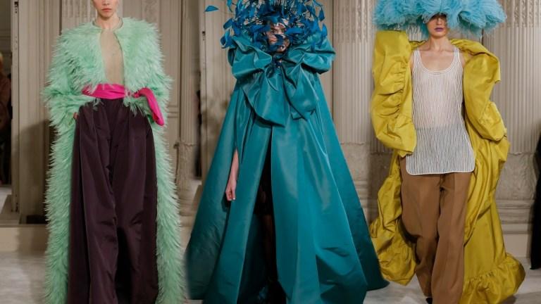 Haute Couture & International Fashion Trends