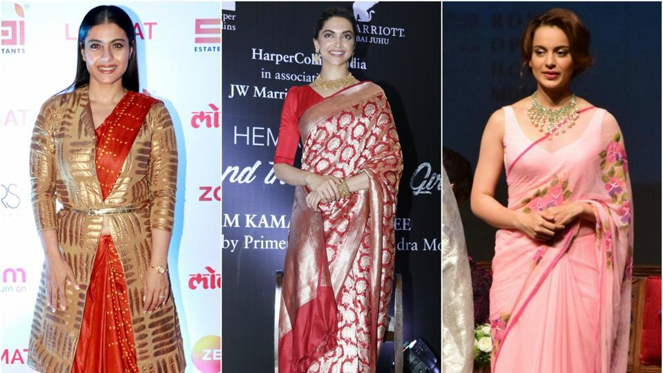 0c2948204437a5 5 Bollywood Divas Spotted Wearing Saree in Recent Events