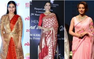 Bolly Divas in Saree