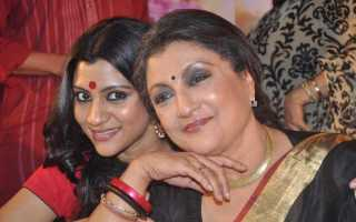 Konkona and Aparna Sen