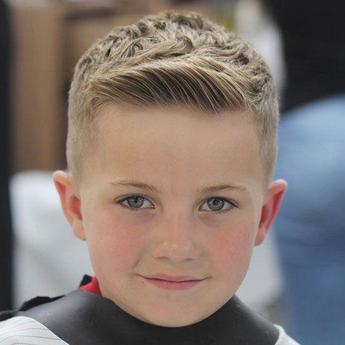 الشعر القصير قصات شعر اطفال اولاد مدرج