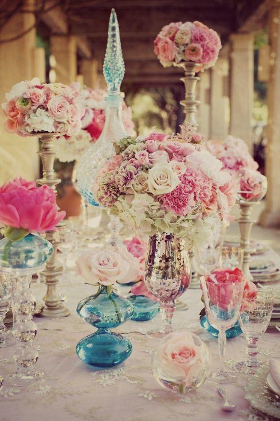 ألوان زينة الزفاف