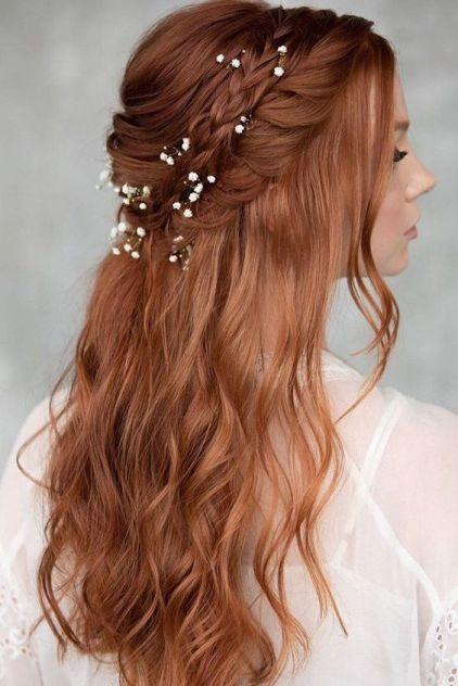 لفة شعر عروس مموجة