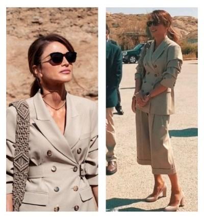 Queen Rania in look of Michael Kors