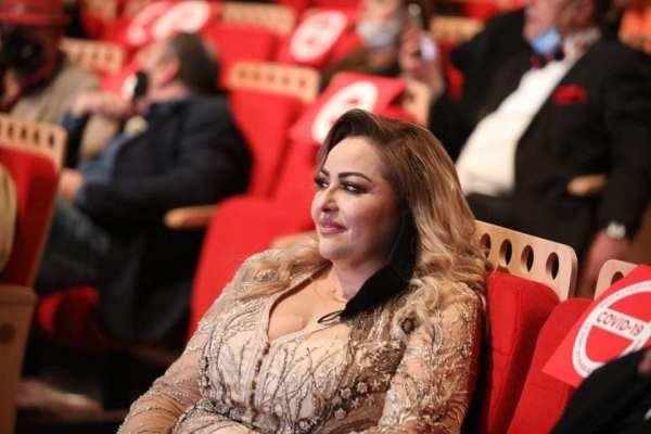 الفنانة نوال غشام كانت من ضمن الجمهور الحاضر