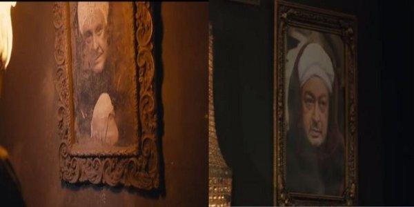 Honoring Mahmoud Morsi and Nour Al-Sharif in the series