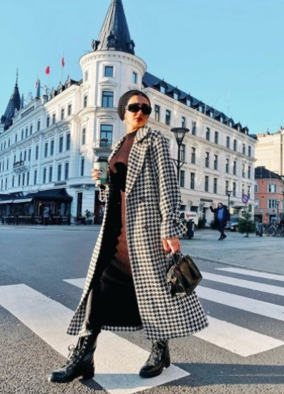 Visions of the pro in a Karuh coat