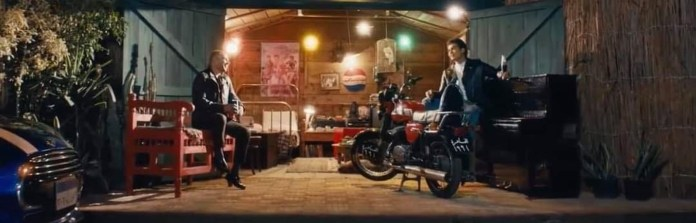 Hossam Mostafa and Amr Diab in the advertisement that brought them together