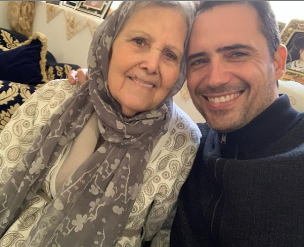 Zafer Al-Abidin and his mother