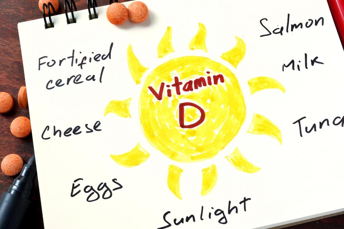 مصادر الفيتامين د