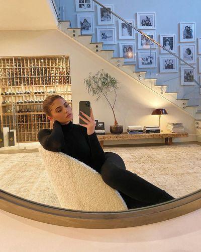 كايلي في قصرها الفاخر-الصورة من أنستغرام