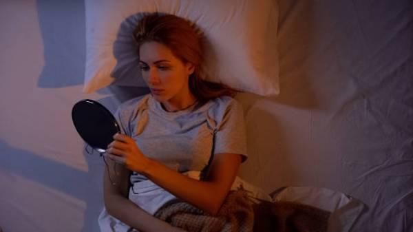 مساج الوجه قبل النوم