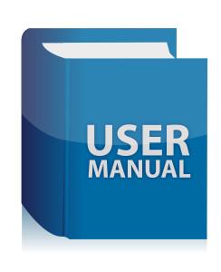User guide book illustration design