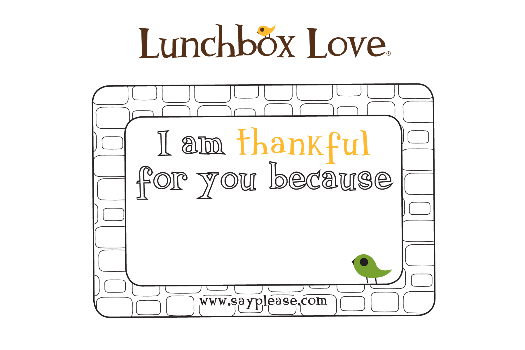 Free Seasonal Printables