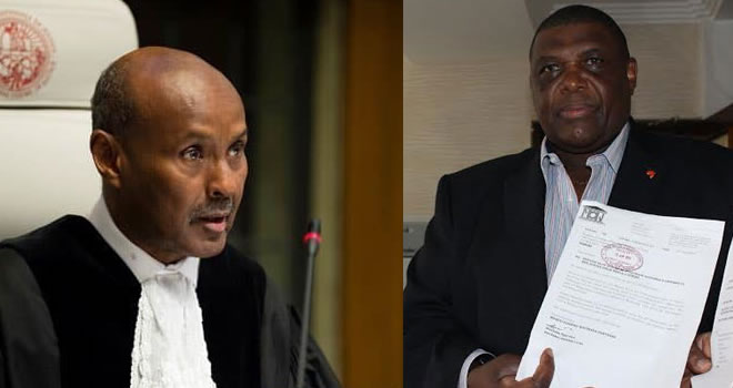 Matsanga now wants ICJ President out of Kenya-Somalia case