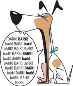 Barking dogs make it hard to hear when someone wears hearing devices.