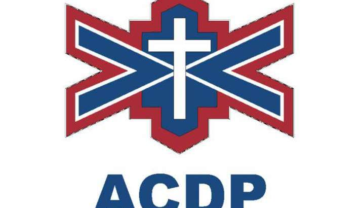 The ACDP stands with Israel