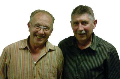 Heiner Galm und Paul Fuchs: Abteilungsleiter Ehrenhalber