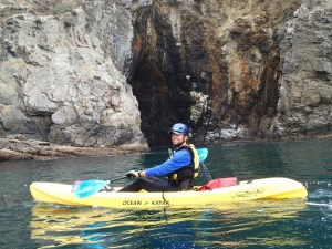 ocean kayaking channel islands