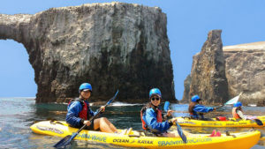 anacapa sea cave kayaking