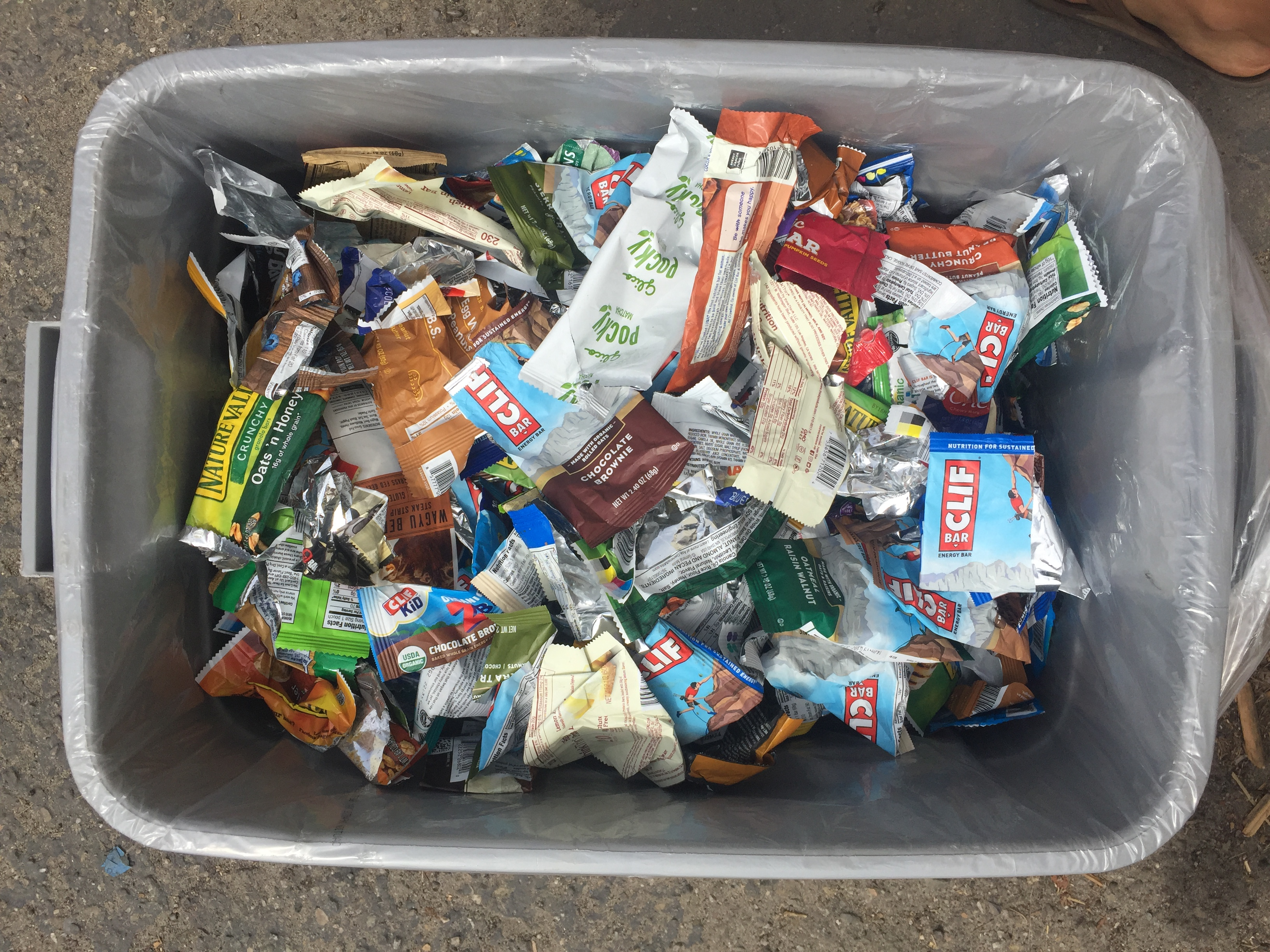 Recycling Energy Bar Wrappers with TerraCycle