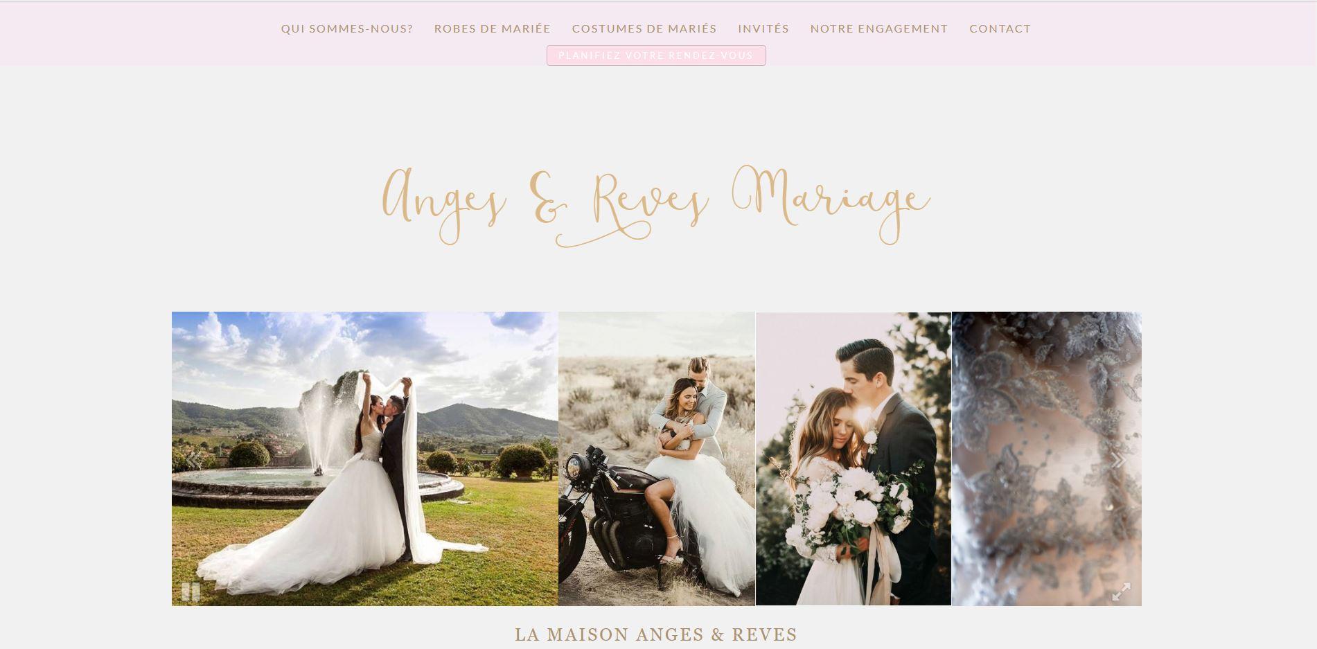 Anges et Rêves robes de mariées à Montrabe
