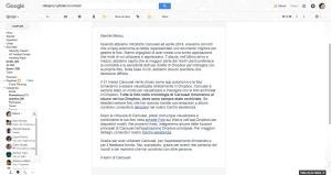 Grazie per aver utilizzato Caruosel - marco frattola@gmail.com - Gmail