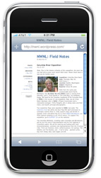 Wordpress On iPhone