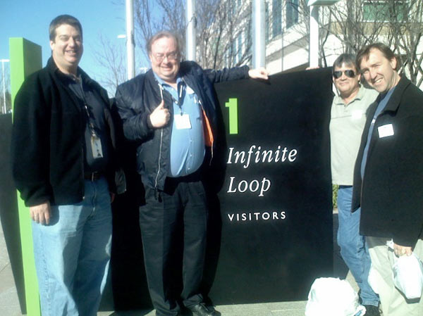 Visiting Apple Corp. on the Macworld Expo trip