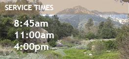 SBCC - Service Times