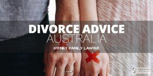 Divorce Advice Australia Lawyers Sydney