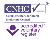 I am Registered with the CNHC (Complimentary & Natural Healthcare Council) for Massage