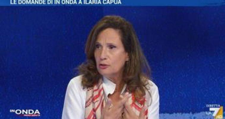 """Ilaria Capua e la provocazione: """"No vax paghino costi ricoveri"""""""