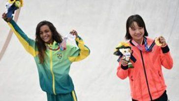 Tokyo 2020, skateboard donne: oro e argento a due 13enni