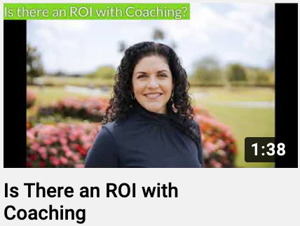 Is There an ROI with Coaching